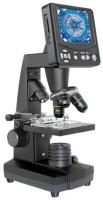 Microscopio monitor negro